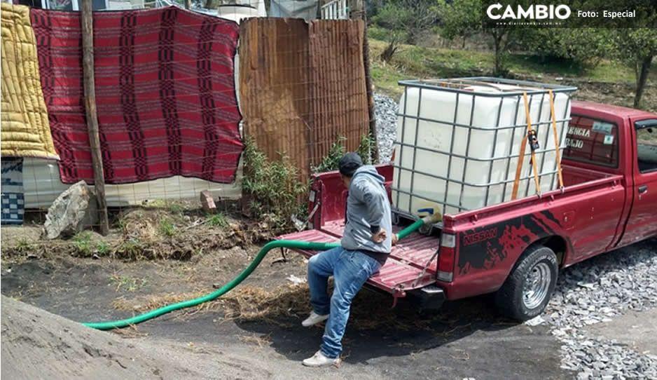 Familias de El Seco están desesperadas ¡Tienen más de mes y medio sin agua potable!