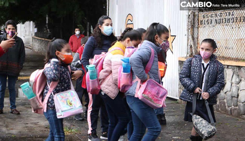 ¡Contagiadero en escuelas! Puebla suma 10 nuevos positivos por COVID en el regreso a clases