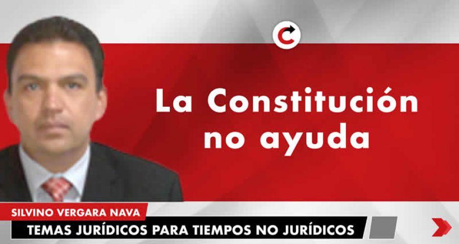 La Constitución no ayuda