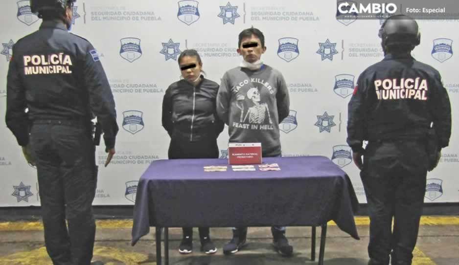 Arrestan a pareja tras asaltar a pasajeros de ruta Flecha Azul
