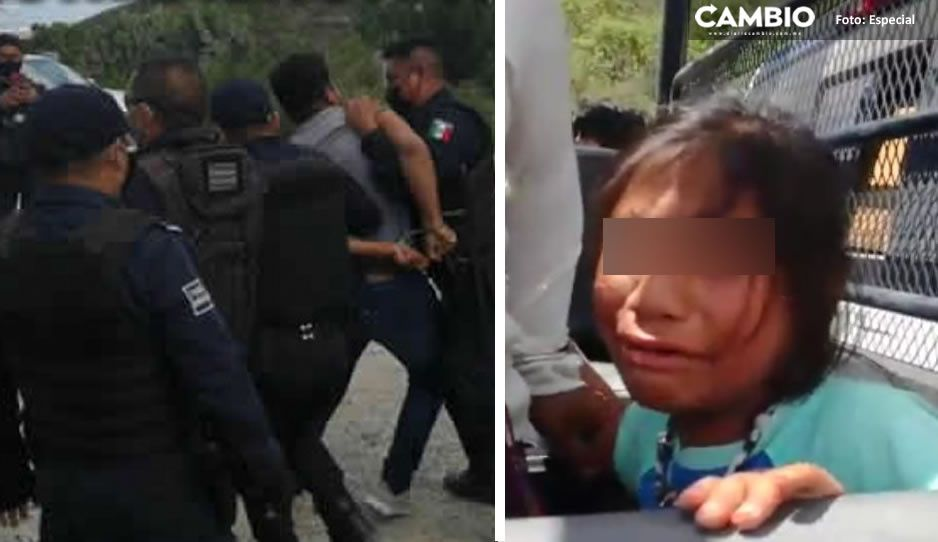 CDH investiga a policías de Tehuacán por detener a niñita durante violento desalojo