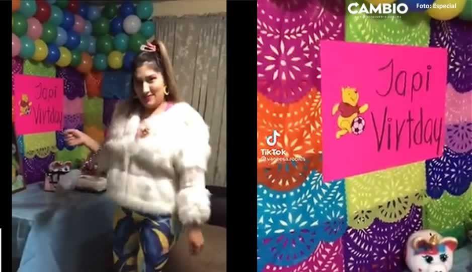Video: Jovencita realiza fiesta de 'nacos' y la tunden en redes
