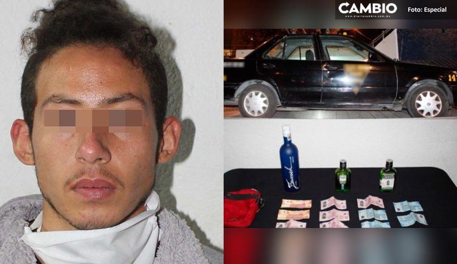 Caen 4 adolescentes tras asaltar un Oxxo en Rementería; su botín era chupe y dinero en efectivo