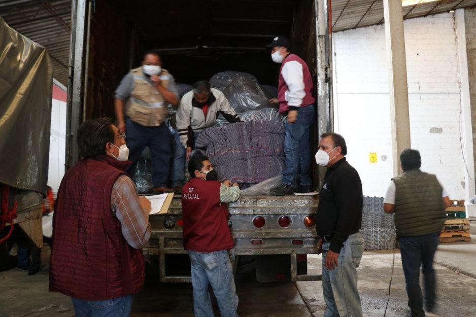 SEDIF avanza con la entrega de apoyos a damnificados por el huracán Grace