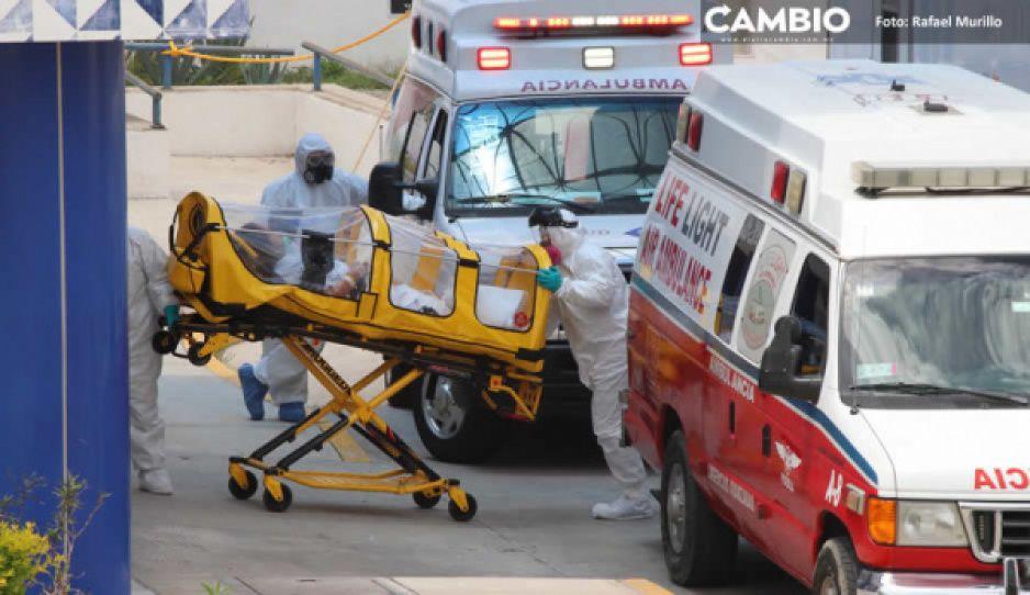 Federación reporta 61 muertes y 443 contagios más en Puebla