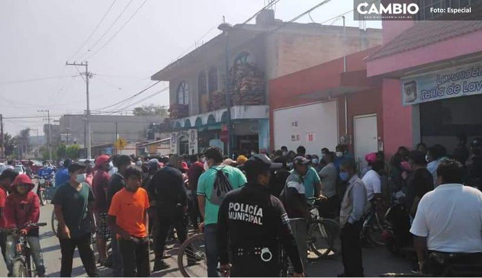 Pobladores de Coapan amagan con linchar a delincuentes, ante falta de respuesta de autoridades