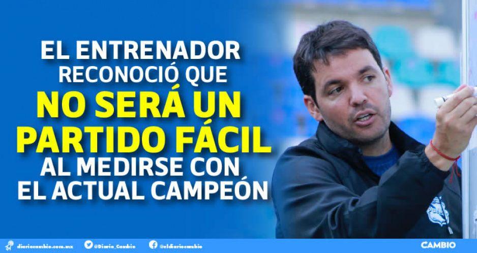 Club Puebla tiene que ganarle a Cruz Azul para colarse al repechaje: Nicolás Larcamón