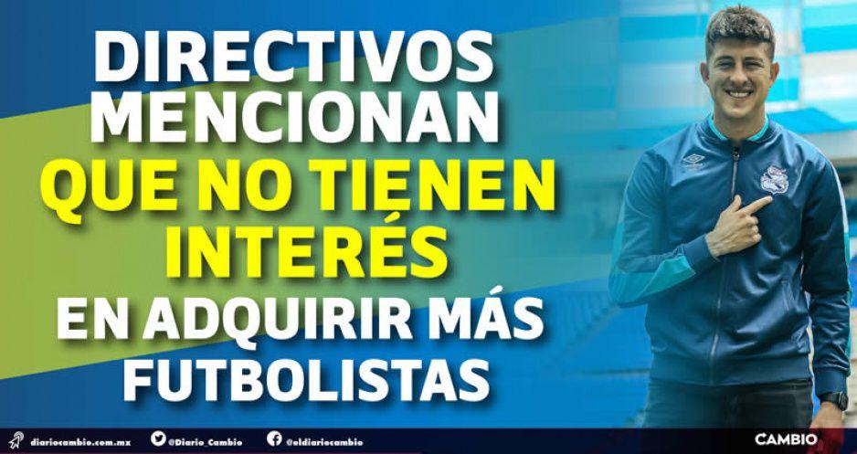 Club Puebla cierra el monedero: trajo cinco jugadores, tres a la banca y dos para la Sub-20
