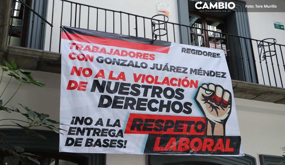 Gonzalo Juárez vuelve a hacer show: cierra oficinas municipales, pero ya no había gente (FOTOS Y VIDEO)