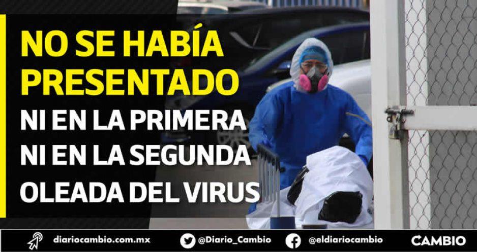 Con Delta, Puebla tuvo su peor semana de contagios en toda la pandemia: 4 mil 200