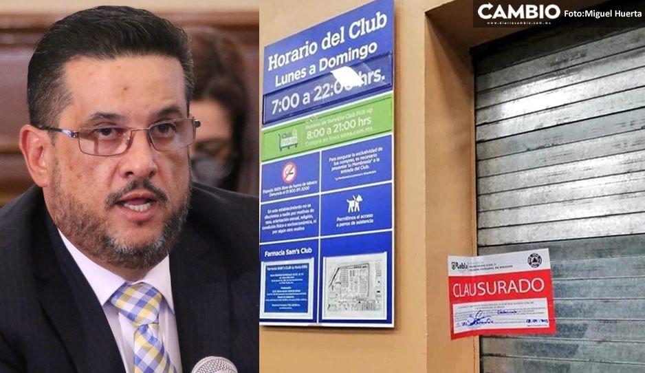Gustavo Ariza se rebela vs la Federación: Puebla está en semáforo rojo y seguirán las clausuras