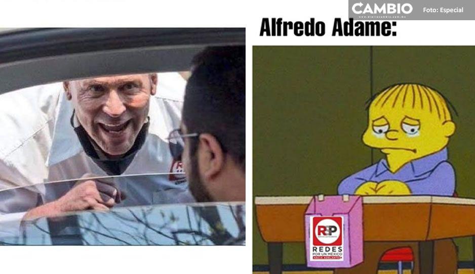 Tunden con memes a Alfredo Adame tras perder diputación de Tlalpan