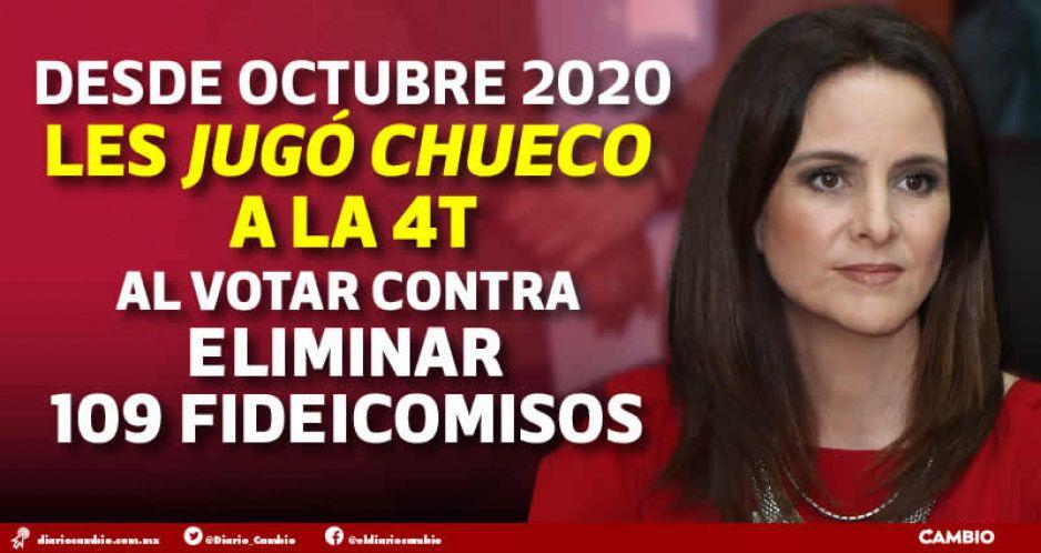 Nancy traiciona a AMLO y la 4T: se declara senadora independiente