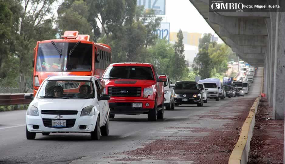 """Poblanos ya pueden viajar a CDMX sin verificación, con """"Pase Turístico"""" no habrá multas"""
