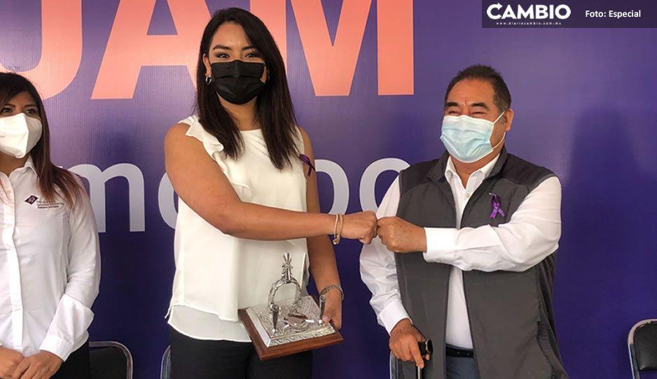 Inauguran Unidad de Atención a Mujeres en Amozoc