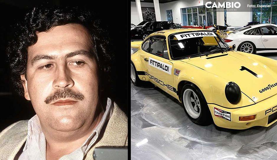 El lujoso porsche de Pablo Escobar es puesto a la venta y este será su costo