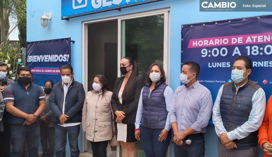 Tlatehui inaugura casa de gestión para atender a la ciudadanía de San Andrés Cholula