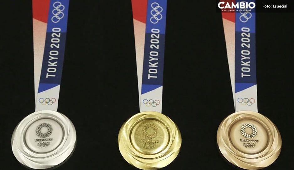 ¿Vivimos engañados? De esto están hechas las medallas de los Juegos Olímpicos