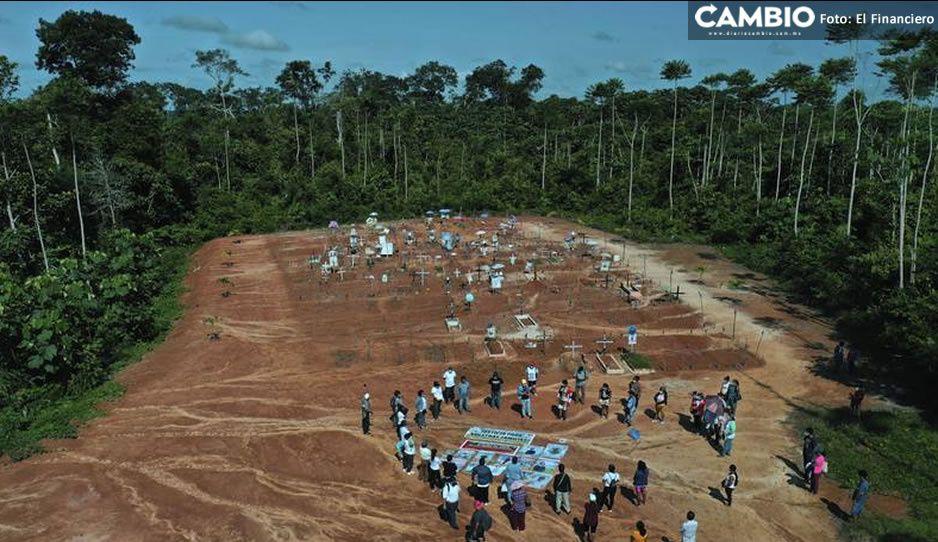 ¡Qué poca! Autoridades de Perú enterraron cientos de muertos por Covid en cementerio clandestino