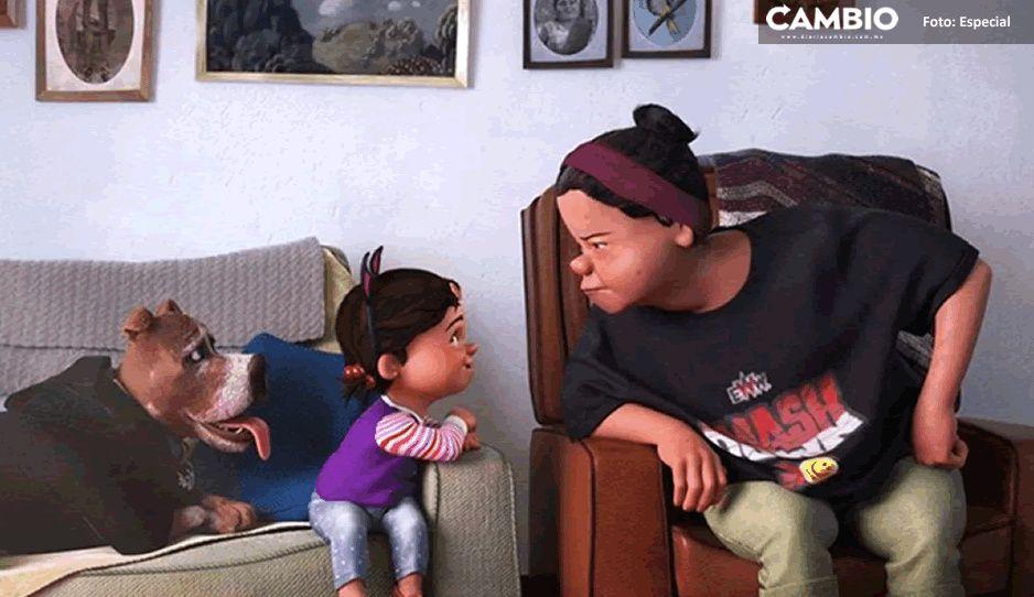 Abuelita amante de la lucha libre nueva protagonista de corto de Pixar
