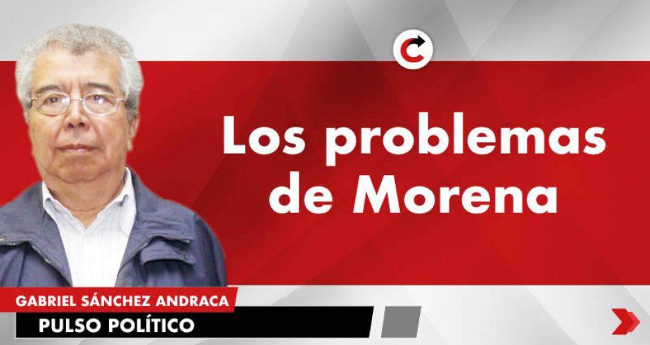 Los problemas de Morena