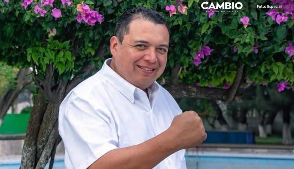 Artemio Caballero promete calle nueva y asegura que arrancará esta semana