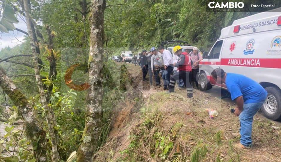 ¡Se los tragó el río! Continúa búsqueda de tres hombres desaparecidos en Tlatlauquitepec
