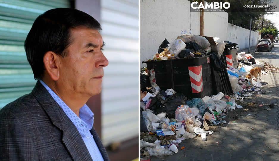 Tenemos plan A, B y C para no tener las calles infestadas de basura: Pedro Tepole