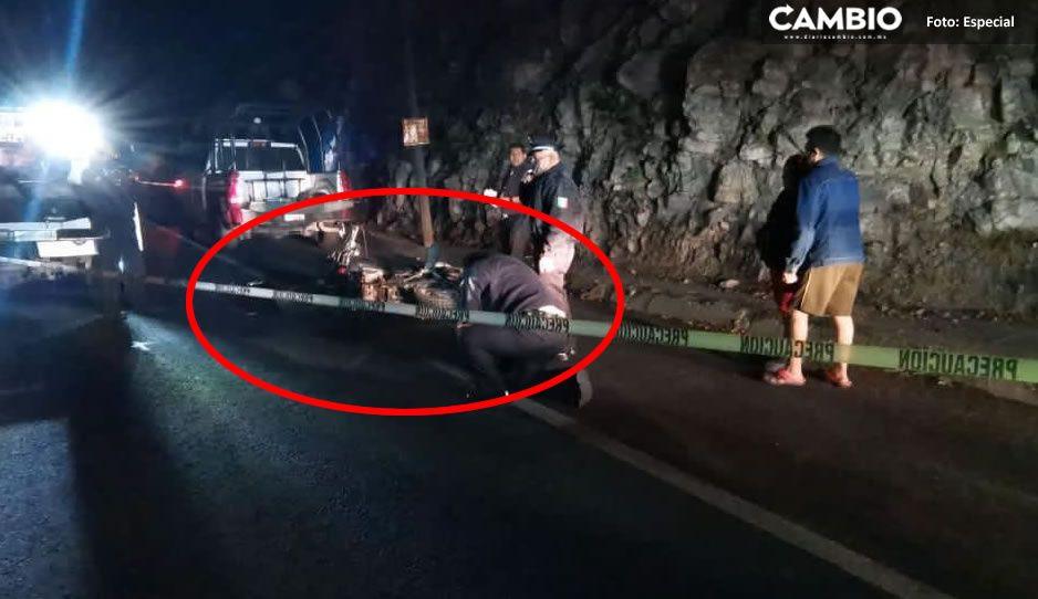 Motociclista se impacta con un coche y muere en el Periférico Ecológico