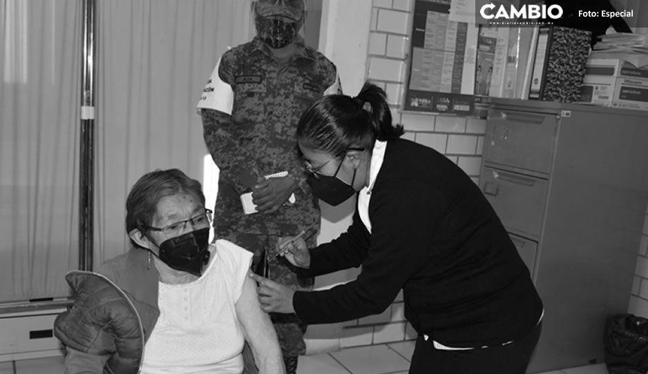 En orden y calma concluye vacunación de segunda dosis contra COVID en Texmelucan