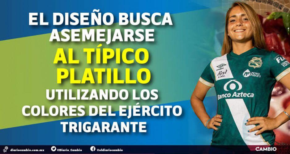 Club Puebla le entra al festejo: tendrá jersey con motivos del chile en nogada (FOTOS Y VIDEO)
