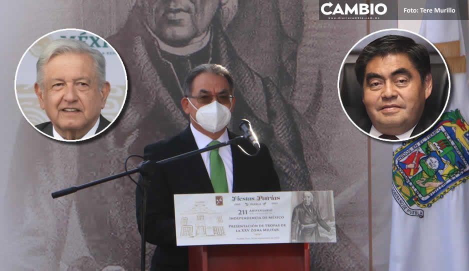 Gobiernos de AMLO y Barbosa concretaron los ideales de la lucha de Independencia: Melitón (FOTOS Y VIDEOS)