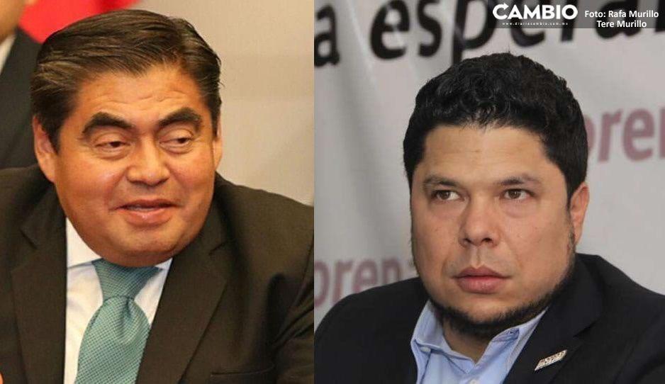 Barbosa da espaldarazo a Biestro tras anunciar que busca la alcaldía de Puebla con Morena