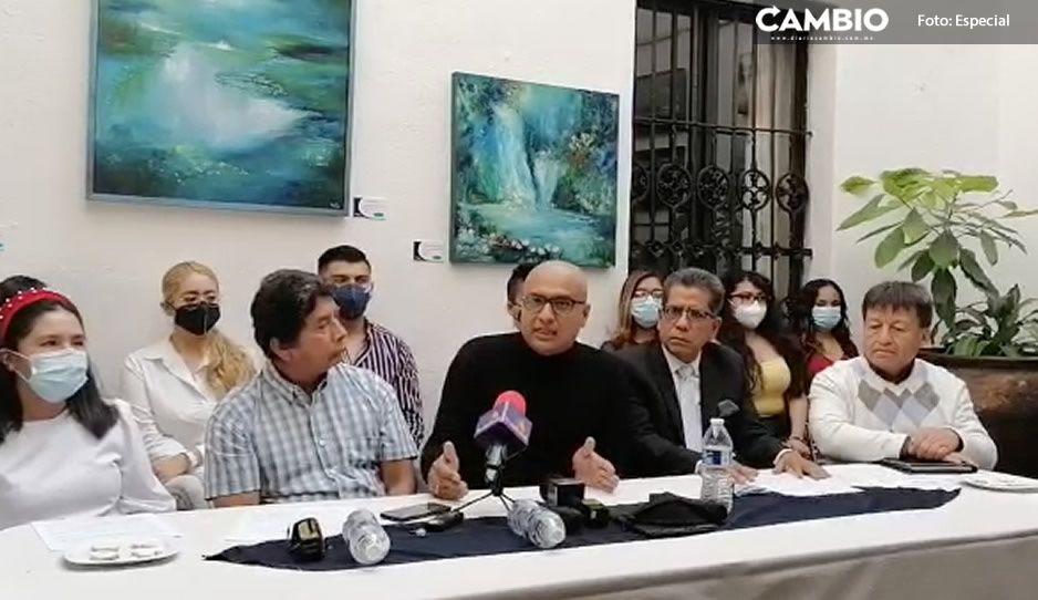 Maestros y alumnos del colectivo 'Amigos de la BUAP' respaldan candidatura de Lilia Cedillo (VIDEO)