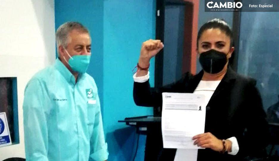 Evelyn Hurtado, la desconocida candidata de Nueva Alianza a la alcaldía de Puebla