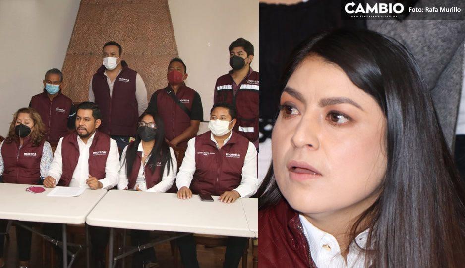 Consejeros Estatales de Morena se lanzan vs Claudia: era el peor perfil a elegir para la contienda