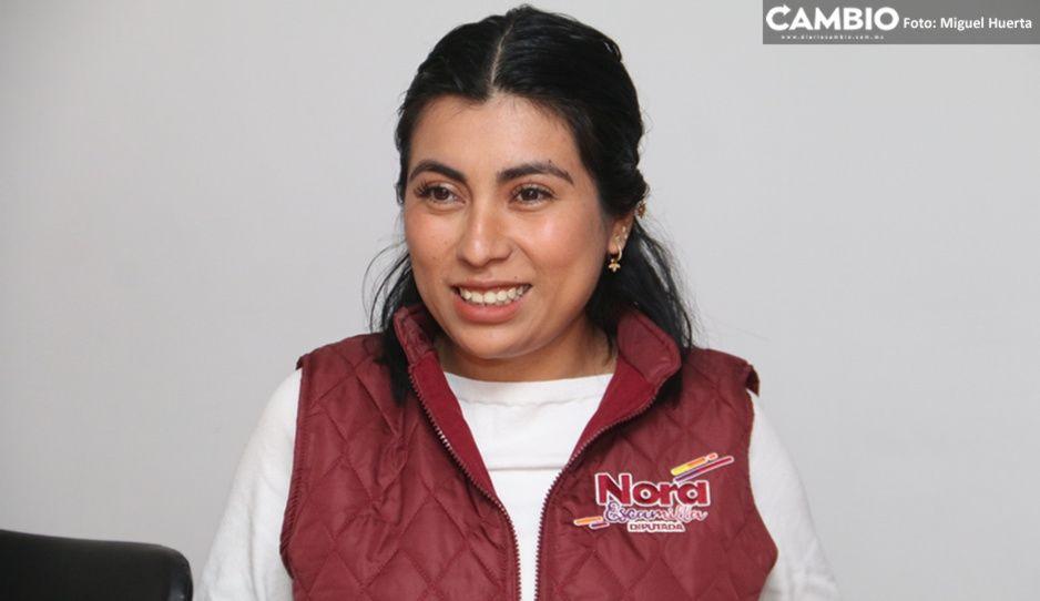 Casa de campaña de Claudia exhibe su falta de ética: Nora Merino