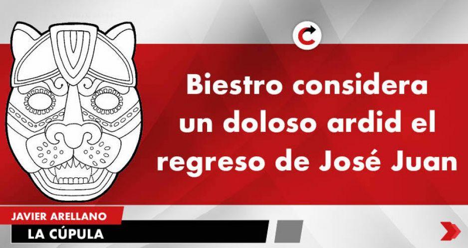 Biestro considera un doloso ardid el regreso de José Juan