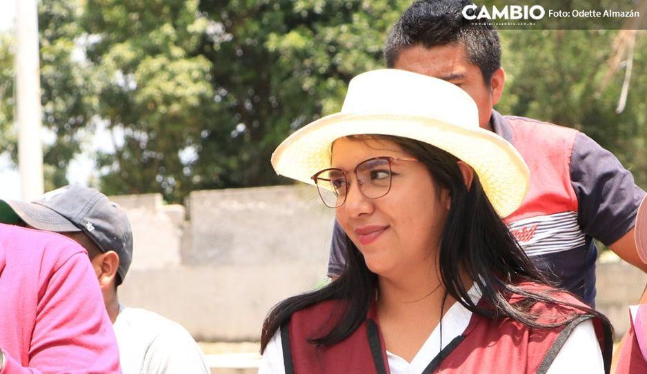 Odette Almazán arranca campaña en Chichotla; va por el distrito VIII (FOTOS)
