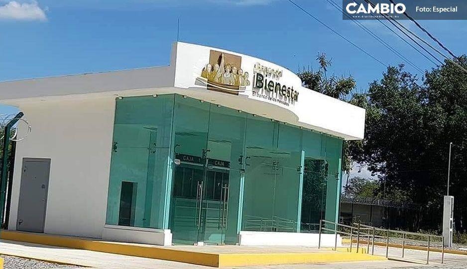 Tehuacán contará con 4 Bancos de Bienestar; 3 arrancan a finales de octubre