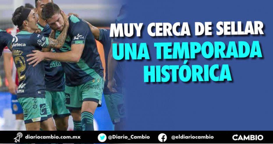 Al Club Puebla le falta un punto para que tenga su mejor torneo desde 2001