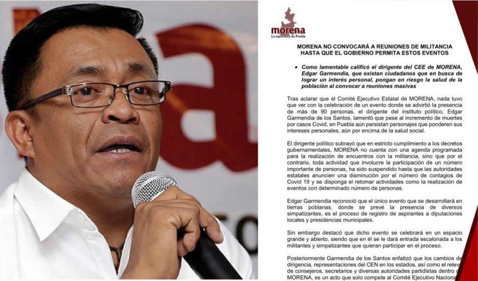Garmendia se aferra al puesto y rechaza designación de Bracamonte como nuevo dirigente