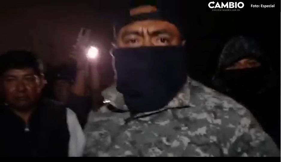 VIDEO: ¡Zafarrancho en Santa Isabel Cholula! Guardia Nacional clausura fiesta privada de Regidora