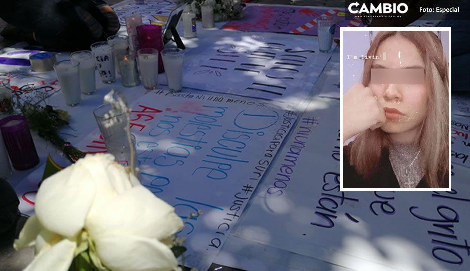 #JusticiaparaSuri colectivos exigen esclarecer feminicidio de la estudiante del CBTIS (FOTOS)