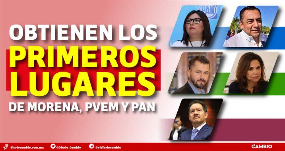 Estos candidatos del PAN, PRI, Verde y Morena ya amarraron curul en San Lázaro