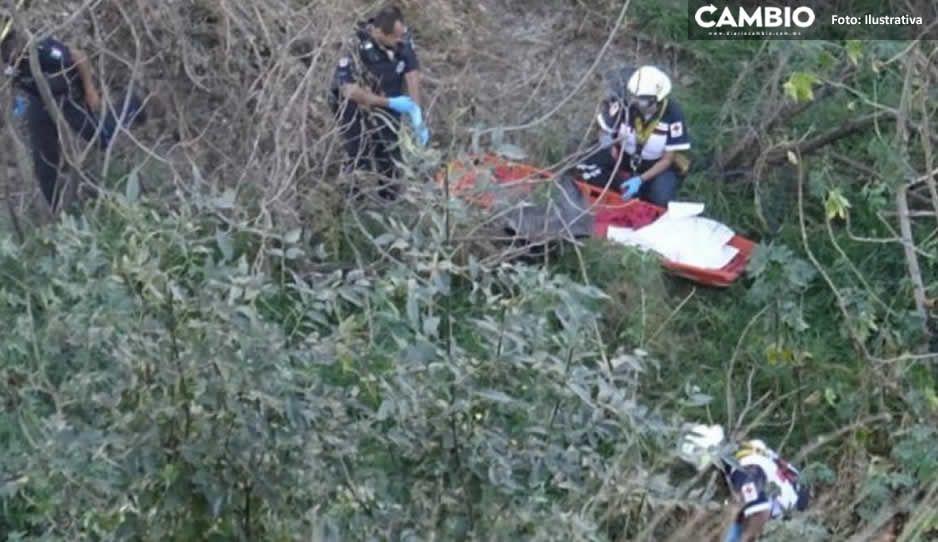 ¡Tragedia! Hallan abuelito muerto en barranca de Bosques de Manzanilla