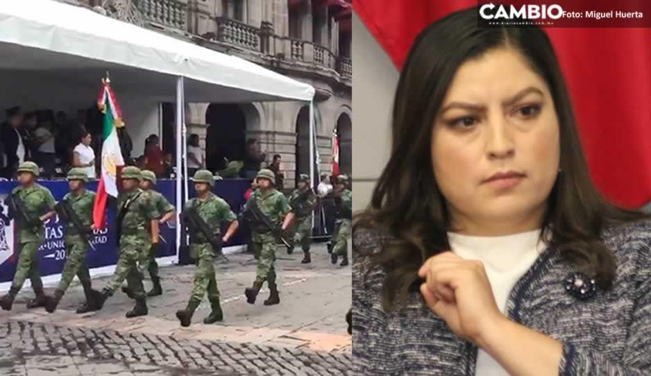 Claudia también tendrá desfile; será en el Zócalo y participarán policías municipales y Ejército