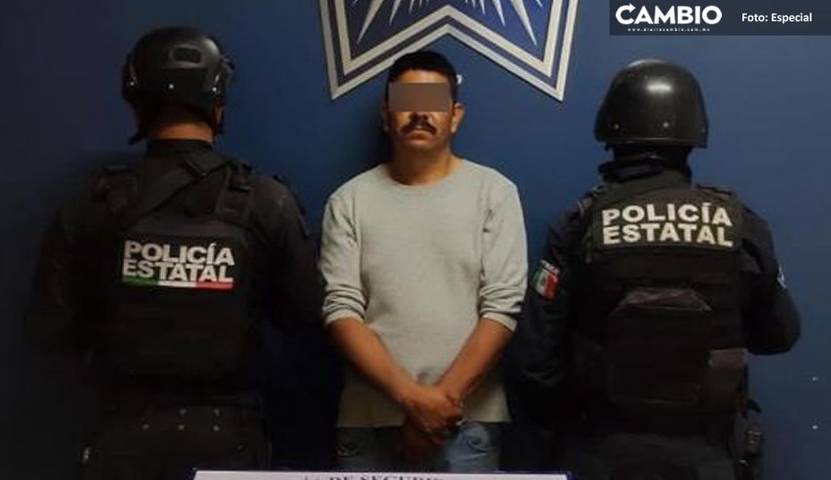 Cae El Gera con pistola y paquetitos con droga, los distribuía en Amozoc y Tepeaca