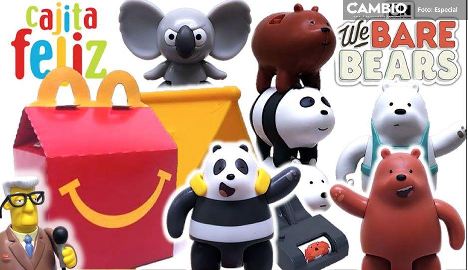 Adiós a juguetes de plástico de la Cajita Feliz de McDonalds