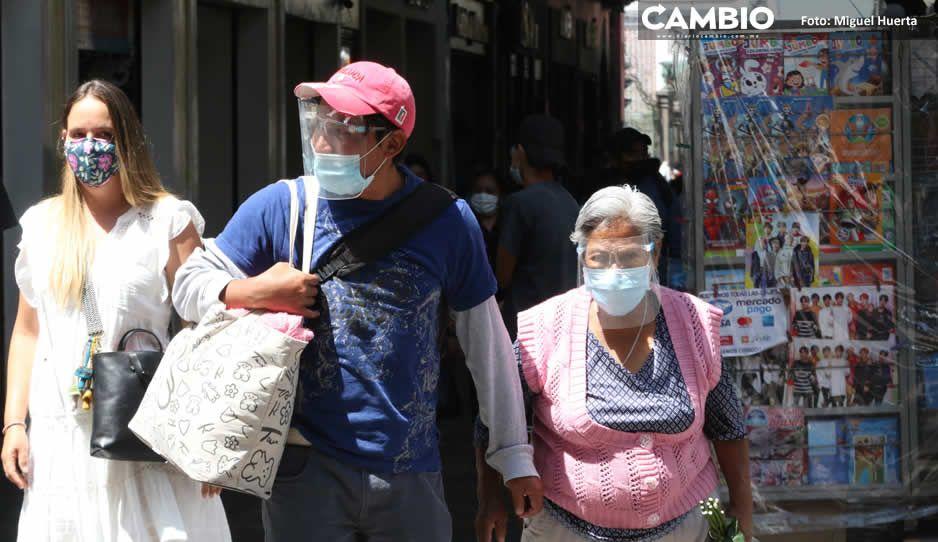 Fin de semana de 415 casos de COVID en Puebla: tercera oleada es un hecho